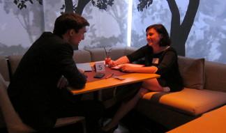 speed dating в Apple cafe