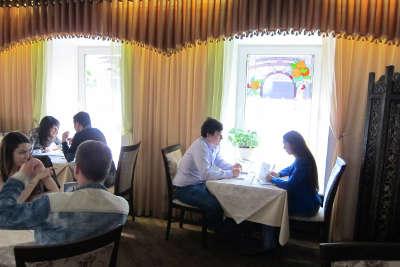 Вечеринка свиданий в ресторане Неглинный верх.