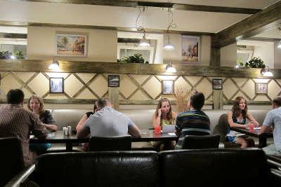 Вечеринка знакомств в ресторане Неглинный верх.